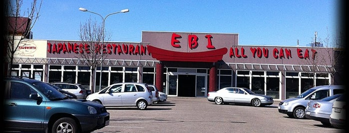 EBI All You Can Eat Sushi & Grill is one of Vienna's wheelchair accessible restaurants.