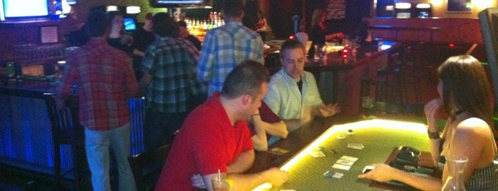 Recess Arcade Bar is one of Video Game & Gamer Bars.