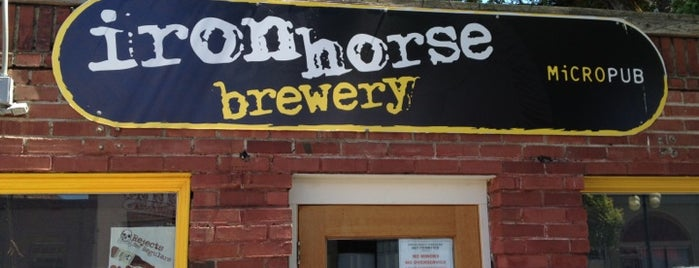 Iron Horse Brewery is one of WABL Passport.