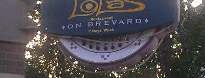 Lola's is one of Footprints in charlotte.