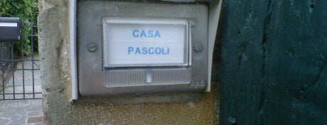 Museo Casa Pascoli is one of ITINERARI E LUOGHI IN TERRA DI ROMAGNA.