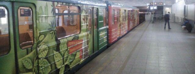 metro Devyatkino is one of Метро Санкт-Петербурга.