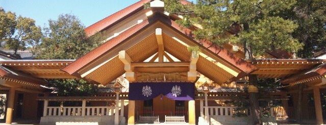 Atsuta-Jingū Shrine is one of #4sqCities Nagoya.