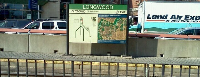 MBTA Longwood Medical Area Station is one of Boston MBTA Stations.