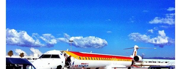 Palma de Mallorca Airport (PMI) is one of I Love Airports!.