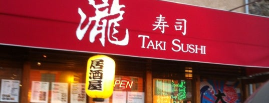 Taki Sushi is one of Bay Area Restaurants.