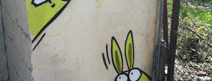Króliki is one of Street Art w Krakowie: Graffiti, Murale, KResKi.
