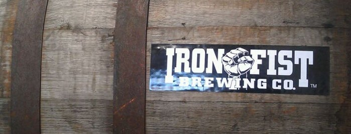 Iron Fist Brewing is one of LA & SD Breweries.