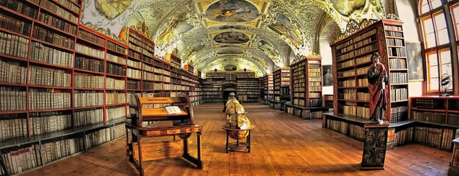 Strahov Monastery is one of Prague.