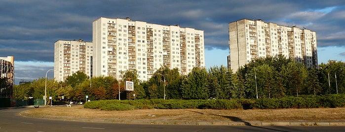 Площади города Киева
