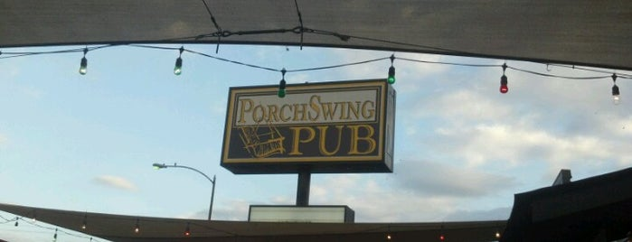 Porch Swing Pub is one of As long as you're in Houston....