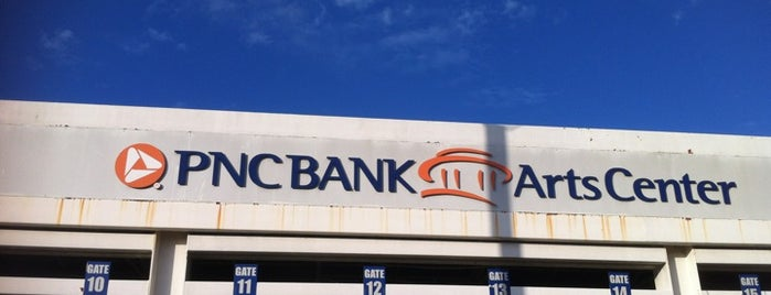PNC Bank Arts Center is one of Experience Teams & Venues.