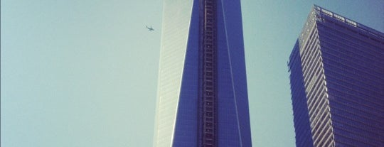 One World Trade Center is one of Great Venues To Visit....