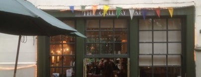 The Gallery Cafe is one of London'13.