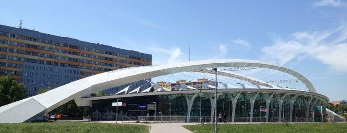Metro =C= Střížkov is one of Metro C.