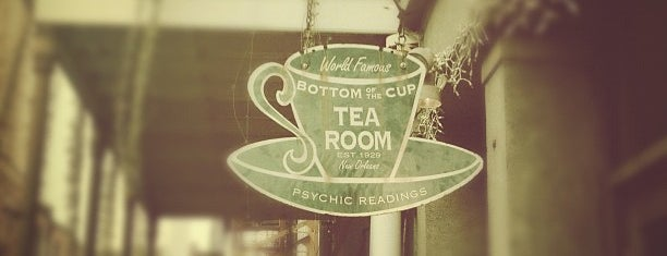 Bottom of the Cup Tearoom is one of New Orleans.