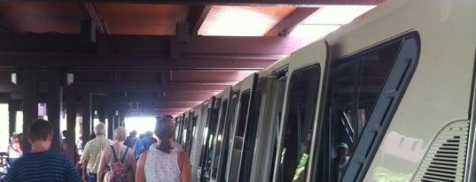 Polynesian Village Monorail Station is one of Walt Disney World.