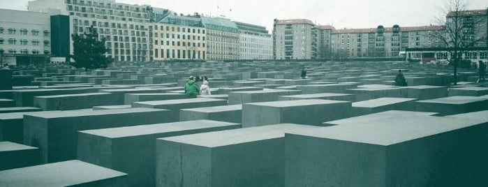 Memorial to the Murdered Jews of Europe is one of Berlin And More.