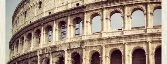 Colosseum is one of La Dolce Vita - Roma #4sqcities.