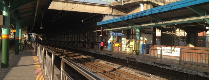 Sinimun Stn. is one of Subway Stations in Seoul(line1~4 & DX).