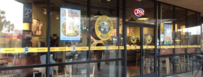 Einstein Bros Bagels is one of Whale's Vagina.
