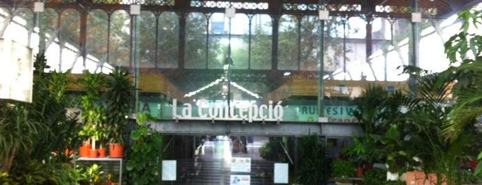 Mercat de la Concepció is one of Barcelona.