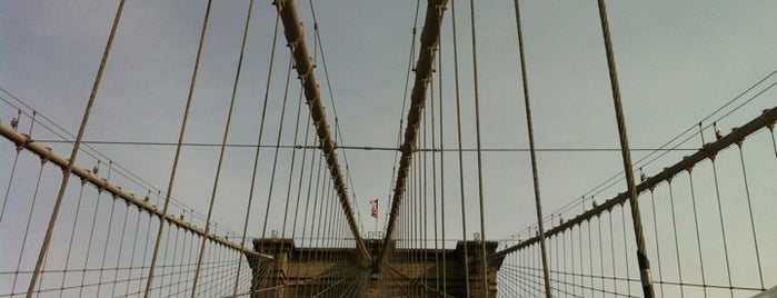 Brooklyn Bridge Promenade is one of Places to visit NYC 2013.