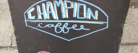 Champion Coffee is one of Trendy Coffee.