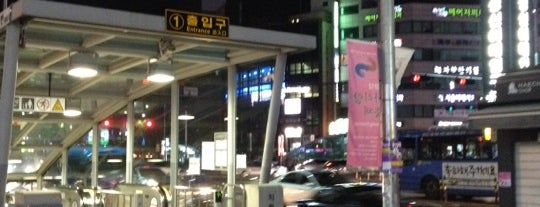 Sungshin Women's Univ. Stn. is one of Subway Stations in Seoul(line1~4 & DX).