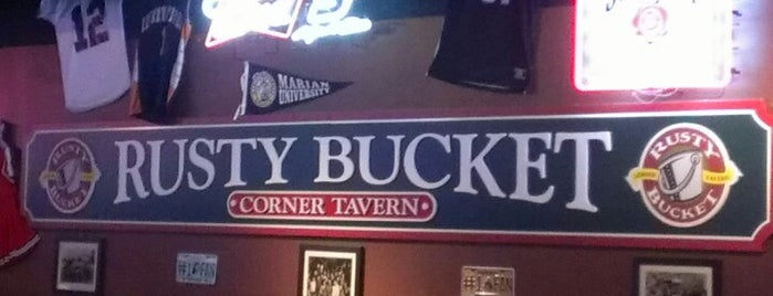 Rusty Bucket Restaurant and Tavern is one of The 15 Best Places for Bar Food in Indianapolis.