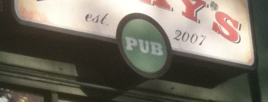 Lucky's Pub is one of Drinkerys.