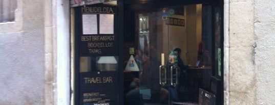 Travel Bar Barcelona is one of Guide to Barcelona's best spots.
