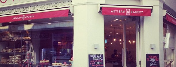Gail's Artisan Bakery is one of London.