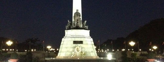 Rizal Park is one of Manila.