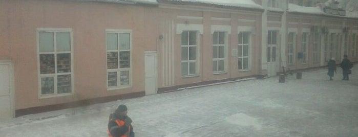 Железнодорожный вокзал г. Верещагино is one of Транссибирская магистраль.