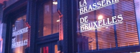 La Brasserie de Bruxelles is one of Best Restaurants of Brussels.