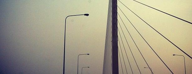 Rama IX Bridge is one of Around Bangkok | ตะลอนทัวร์รอบกรุงฯ.