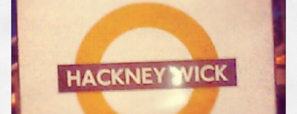 Hackney Wick London Overground Station is one of Railway stations visited.