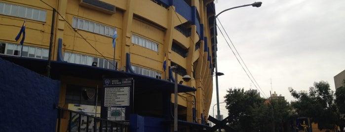 "Estadio Alberto J. Armando ""La Bombonera"" (Club Atlético Boca Juniors) is one of Sports Arena's."