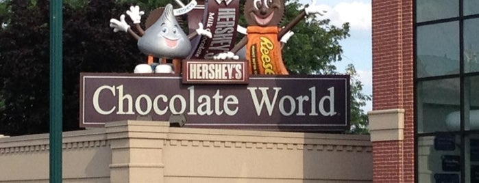 Hershey's Chocolate World is one of Philly & Other PA.