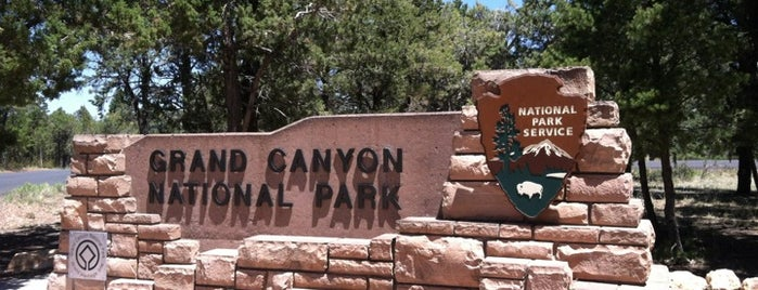 Grand Canyon National Park is one of things done with the family and doug.