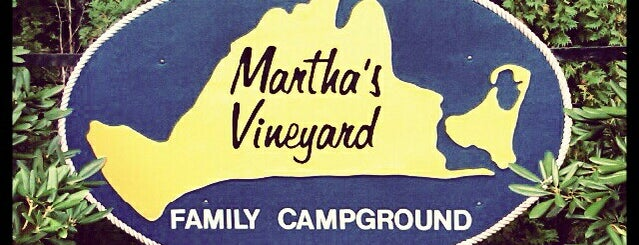 Martha's Vineyard Family Campground is one of Martha's Vineyard.
