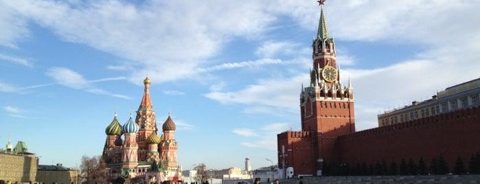 Red Square is one of Интересная Москва.