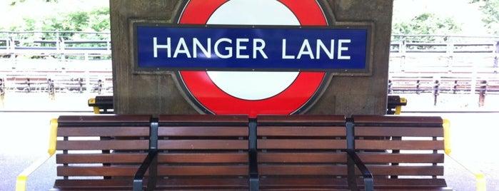 Hanger Lane London Underground Station is one of Tube Challenge.