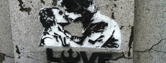 rebel love is one of Street Art w Krakowie: Graffiti, Murale, KResKi.