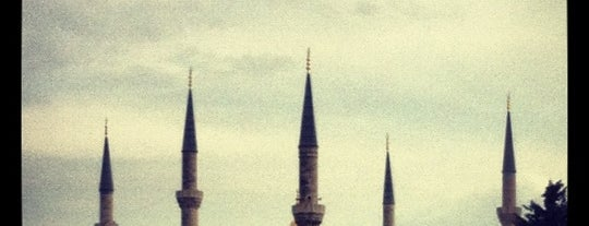 Blue Mosque is one of Istanbul.