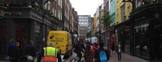 Carnaby Street is one of My London.