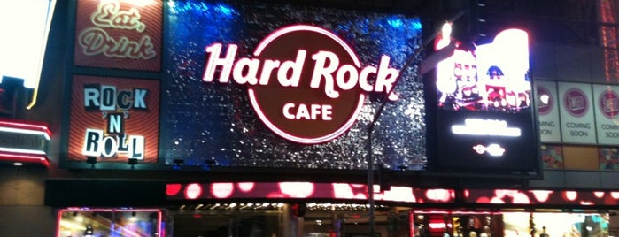 Hard Rock Cafe Hollywood on Hollywood Blvd is one of My favorites.