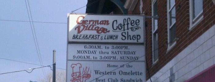 German Village Coffee Shop is one of Brunch.