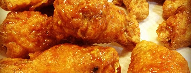 BonChon Chicken is one of BEST KOREAN IN NJ/NYC.